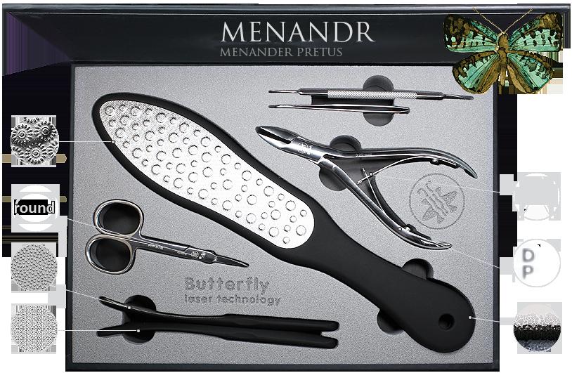 Сбор заказов. Лазерные терки для педикюра Butterfly! Инструмент для маникюра и педикюра! Наборы в подарочной упаковке