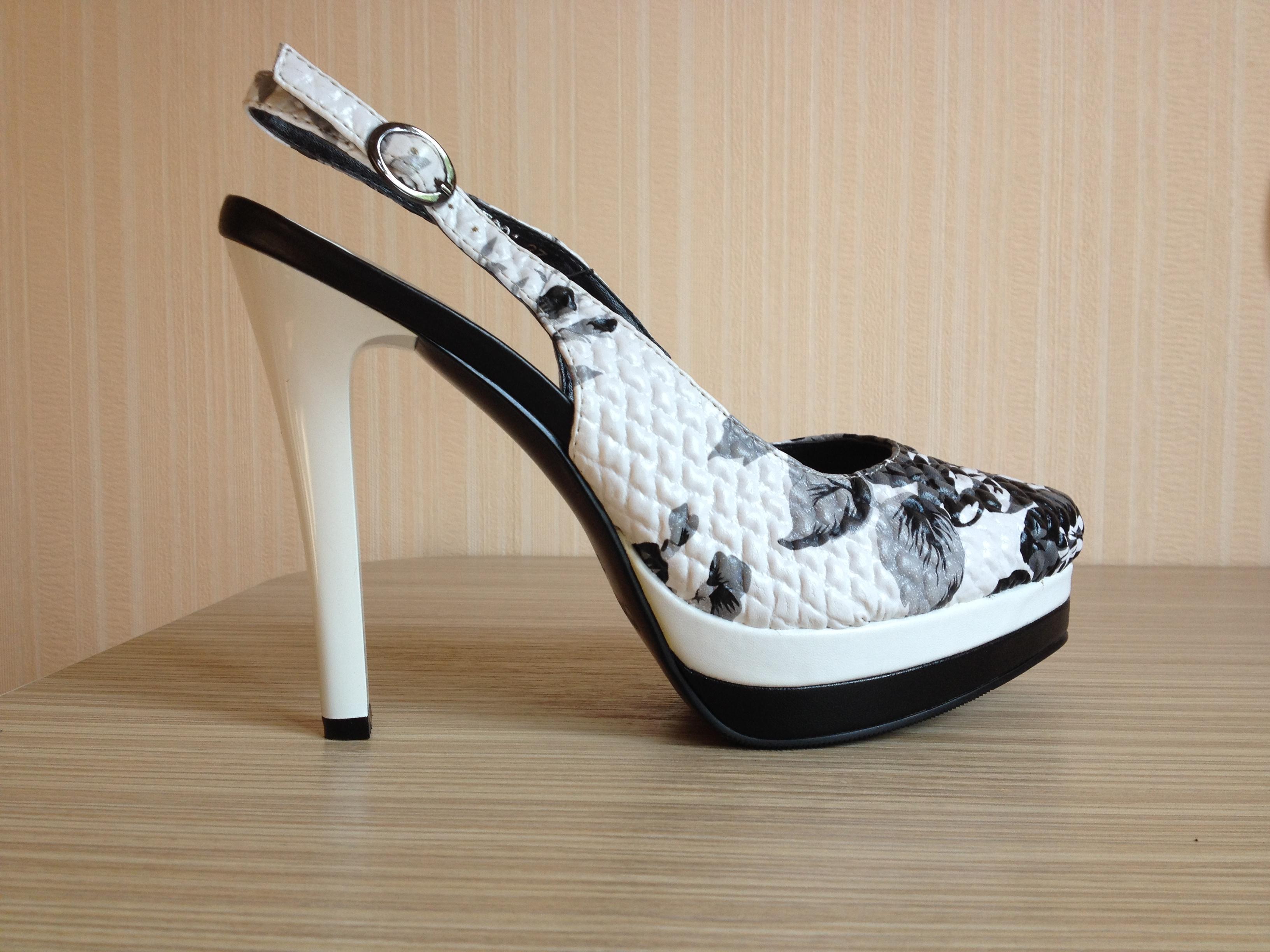 Пристраиваю туфли