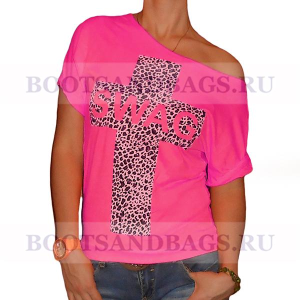 Яркие футболки с разными принтами)
