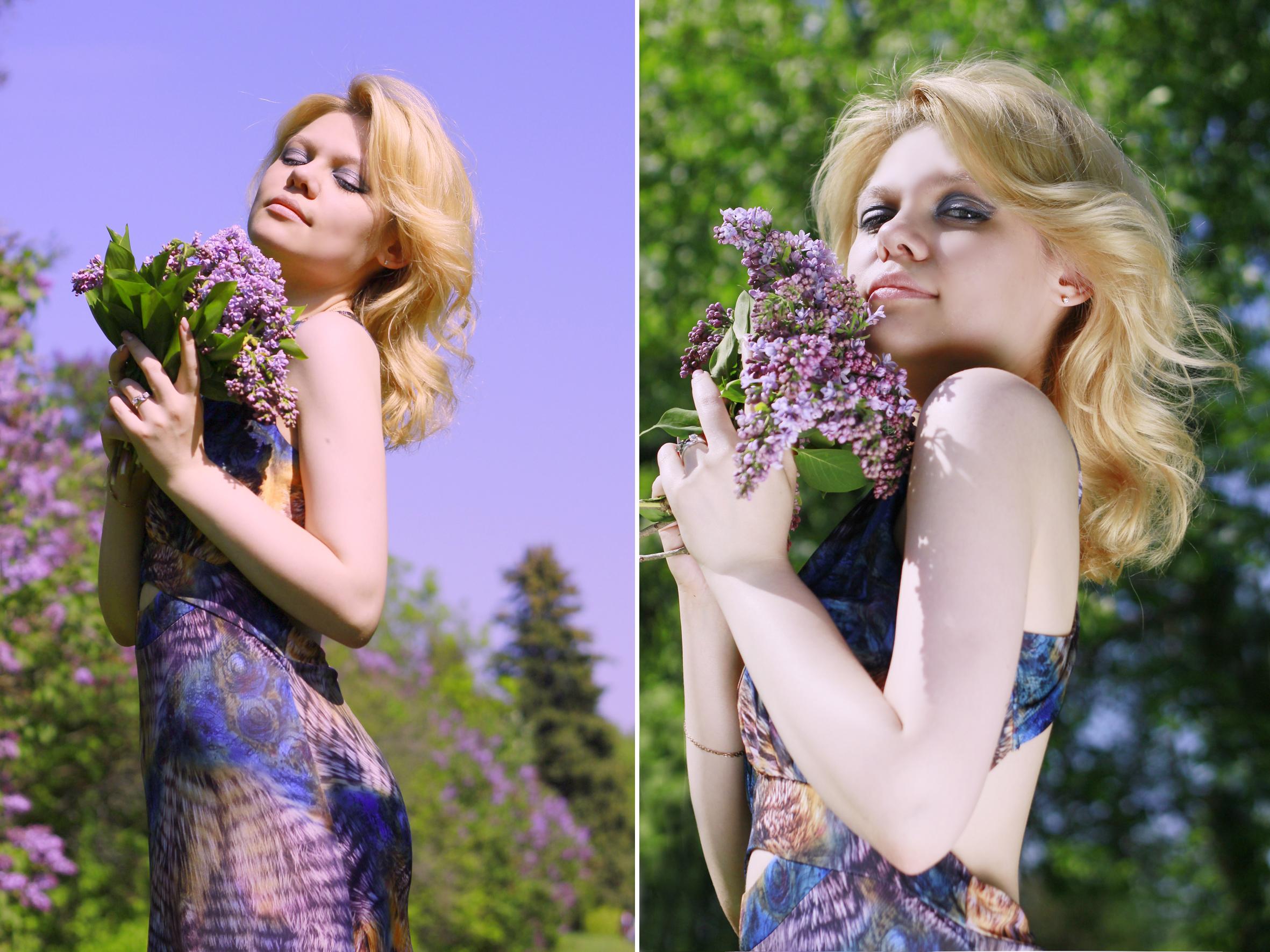 Фотопрогулка с Катей, сирень цветет!)