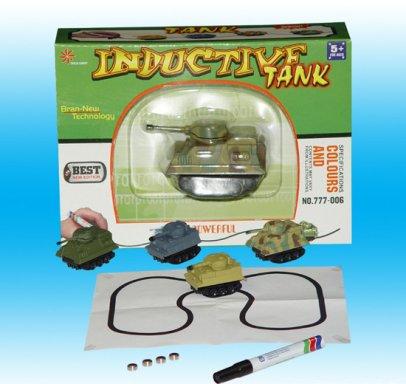 Сбор заказов. Умный танк, который едет по нарисованной линии. Отличный подарок для мальчика любого возраста. Цена по акции 480 рублей!