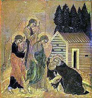 Духов день приходит летом, Вслед за Троицею к нам, Освещен он ярким светом, В этот день идем мы в храм!