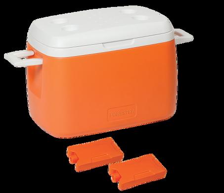 Пристраиваю переносной изотермический холодильник Forester объем 55л. Идеальный вариант для длительных поездок в жаркую
