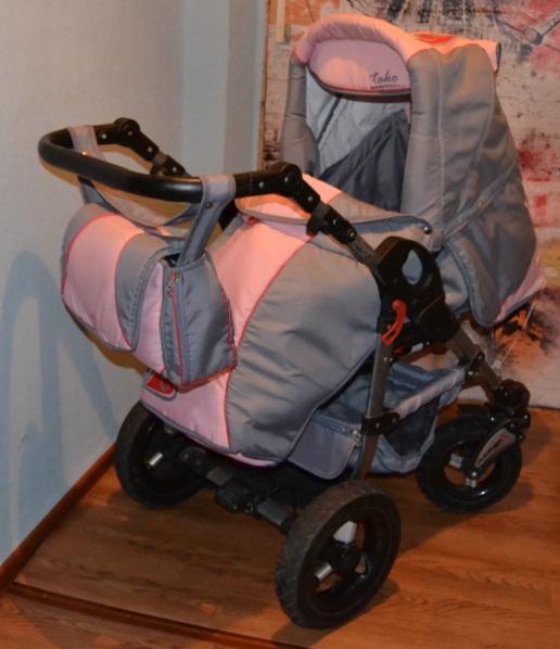 Продам коляску детскую 2 в 1, для девочки.