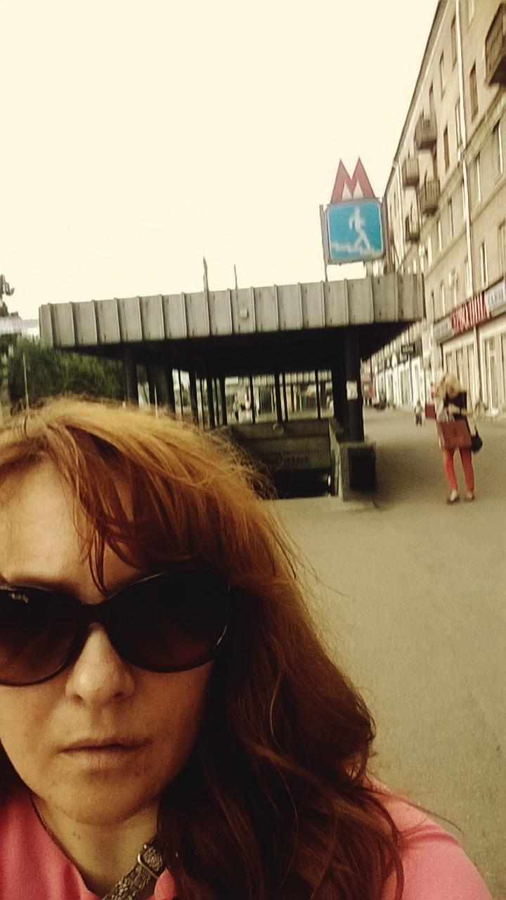 Решила проехаться на метро!!! На нижегородском метро...
