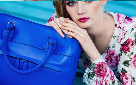 GFN-фабрика сумок. Женские и мужские сумки, кошельки, ремни, рюкзаки. Магия цвета! Создаем летнее настроение