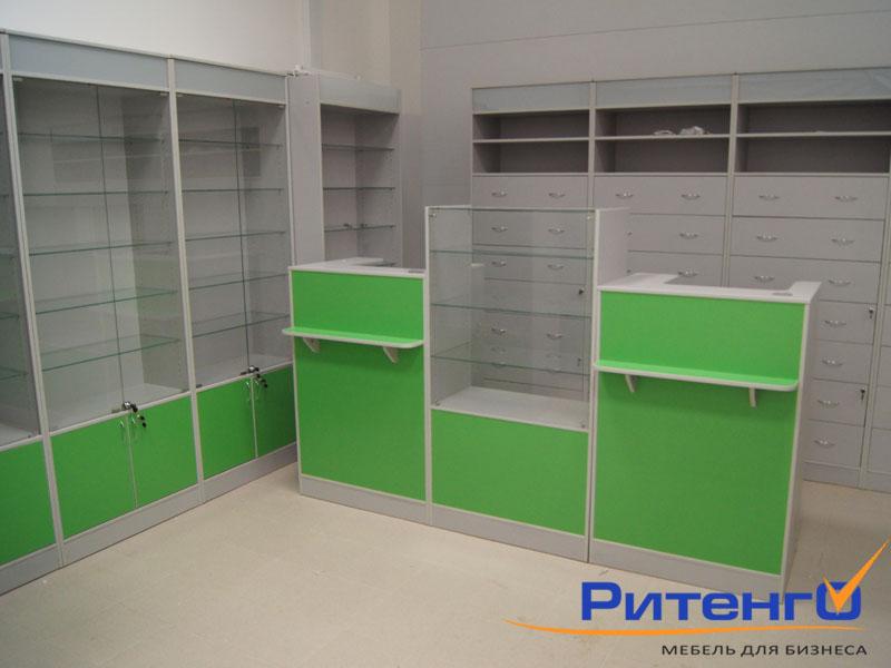 Аптечное оборудование от РИТЕНГО. Торговое оборудование для аптек от производителя!