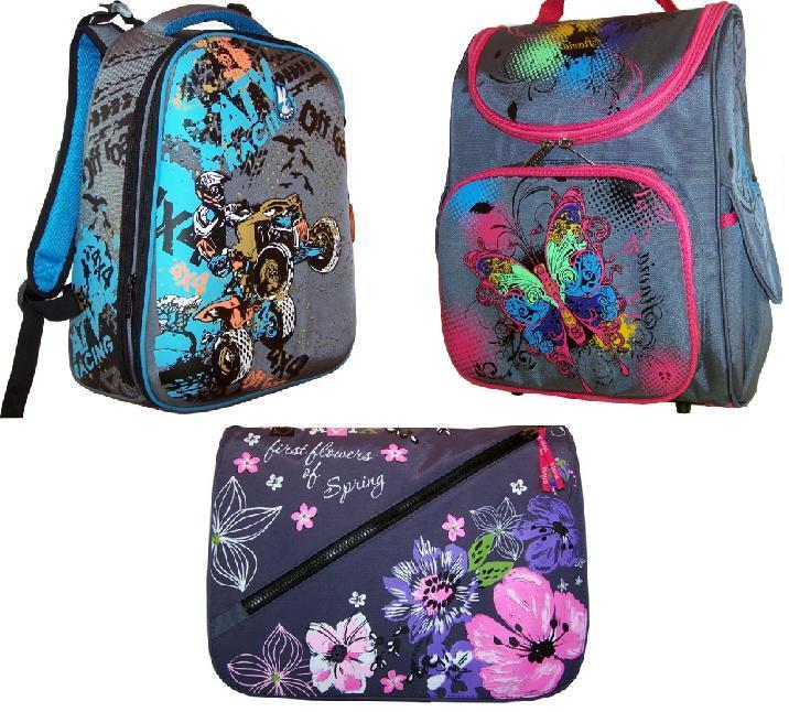 Рюкзаки, ранцы, молодежные сумки для школы, спорта и повседневной жизни S-t-a-v-i-a-6.