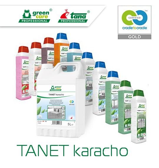 TANET karacho на конкурсе Впервые в России. Решения для клининга