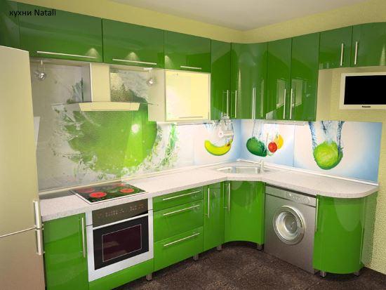 Кухонный гарнитур на заказ в Кухни Natali