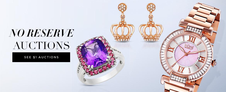 Возобновление аукциона ювелирных украшений и часов BIDZ