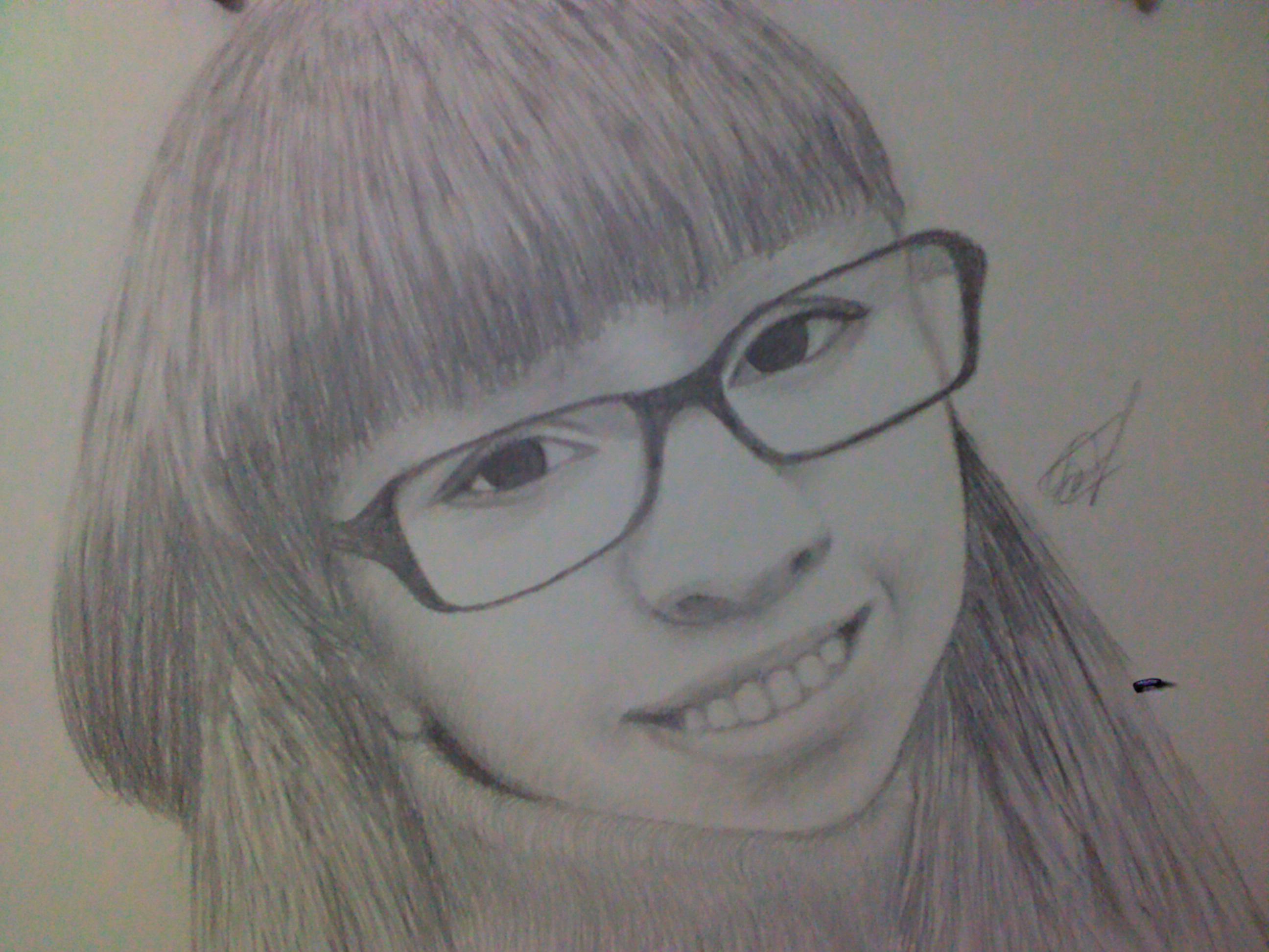 Портрет карандашом по фото.