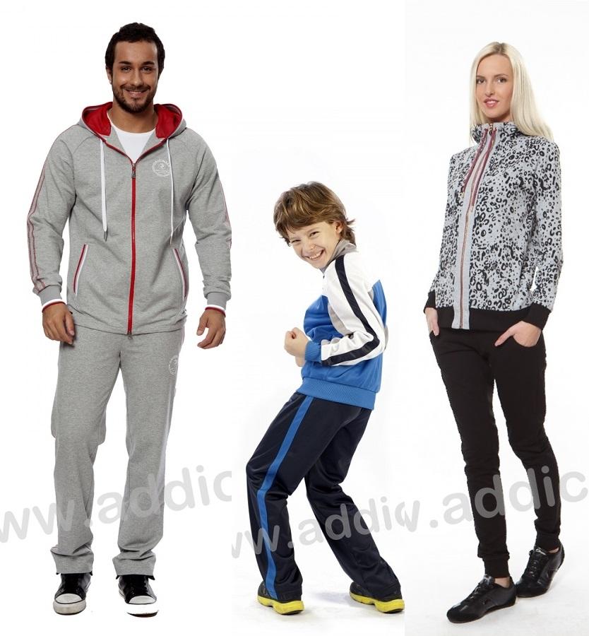 открыт новый сбор по спортивной одежде для всей семьи!