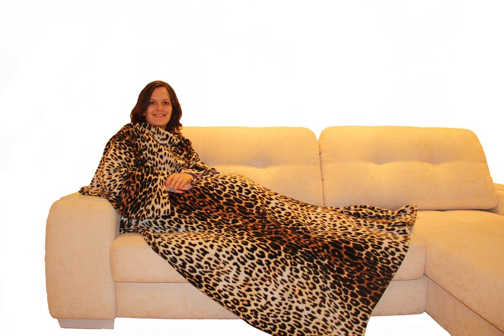 Новинка! Пледы с рукавами! Удобные и мягкие пледы с рукавами подарит Вам тепло и уют холодными вечерами.