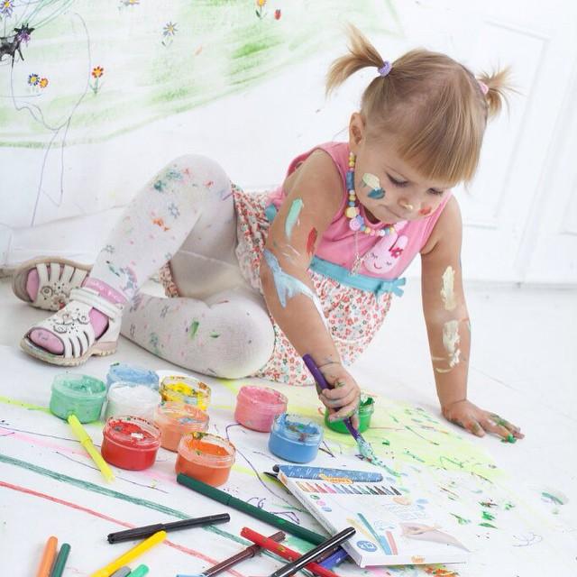 Подарите детям возможность творить!)