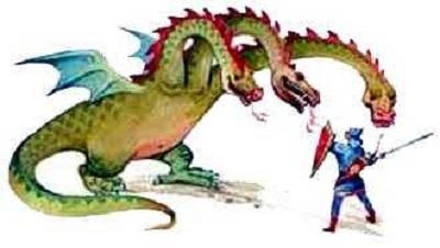 Сказка о коварном змее и царевиче Елисее