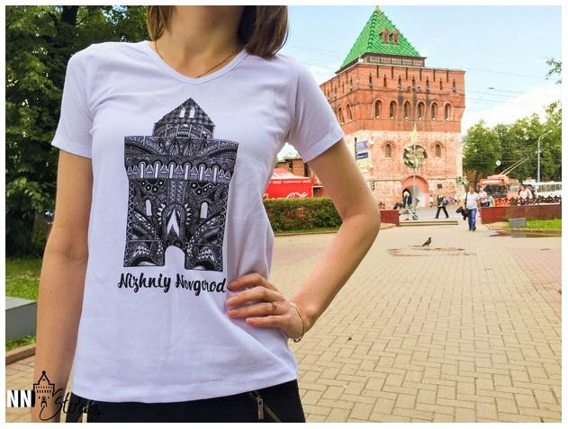 Приглашаю в новую закупку дизайнерских футболок с символикой Нижнего Новгорода. Мужские, женские и детские модели.