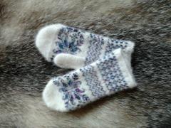 Теплущие носки и варежки для взрослых - 10