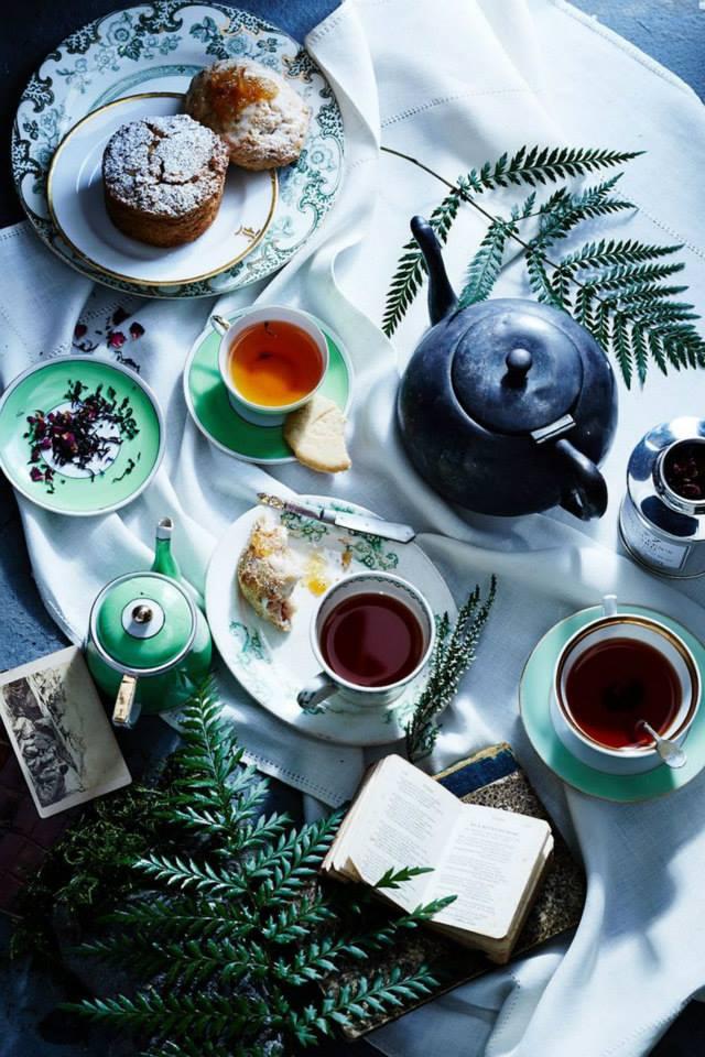 Все самые важные разговоры случались и случаются за чаем. Что может быть вкуснее...