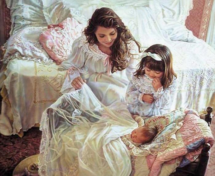 Мужья приходят и уходят. А женщина должна строить свою жизнь так, чтобы в любой ситуации она могла обеспечить своих детей.