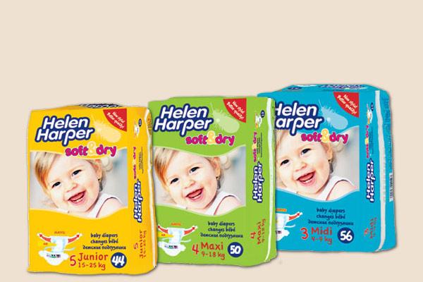 Сбор заказов. Подгузники Helen Harper. Бельгийское качество для наших деток. Выкуп 12 Экспресс Стоп 17.08