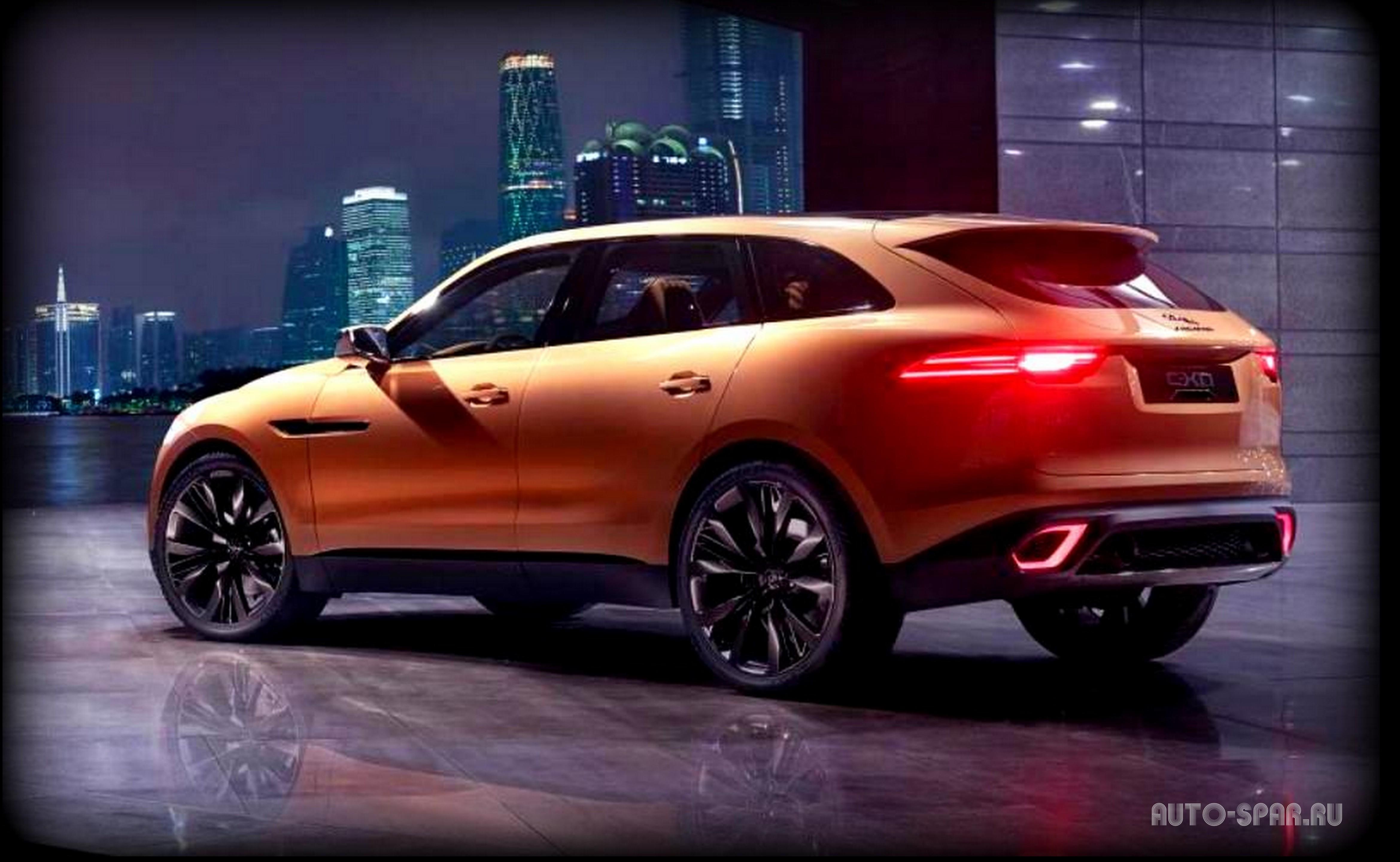 C 2016 года в продажу поступит Jaguar F-PACE - самый инновационный авто из Европы.