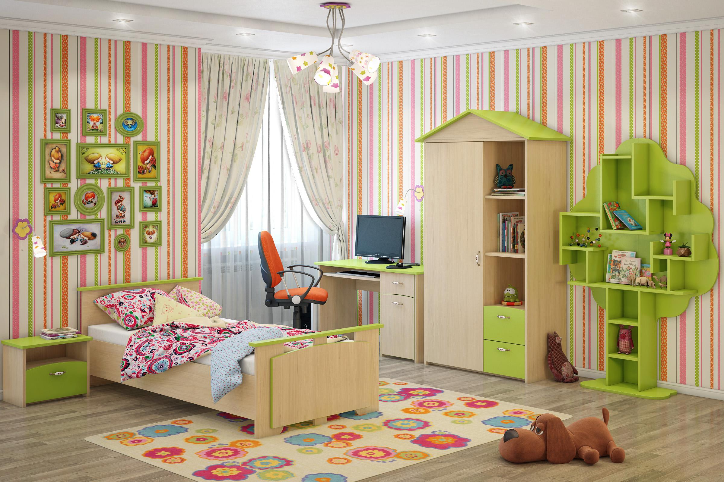 Сбор заказов. Детская комната, милая и уютная, для мальчишек и девчонок. Серия Домик!