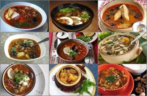 Солянки. 11 рецептов (мясная, рыбная, грибная и другие