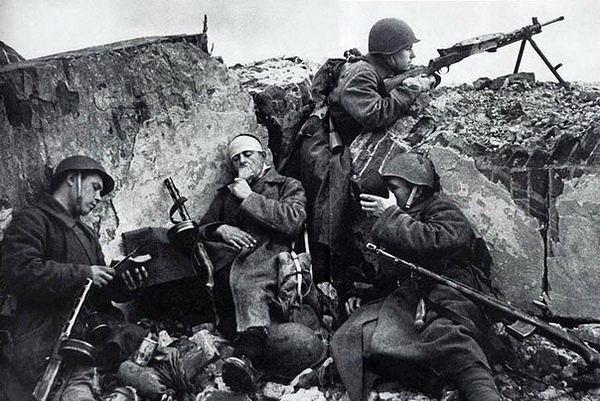 Немецкие солдаты о русских.