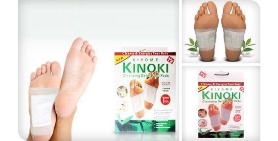 Самый простой способ очищения организма - Детоксикационный пластырь для стоп Kinoki Detox! СТОП 20 августа