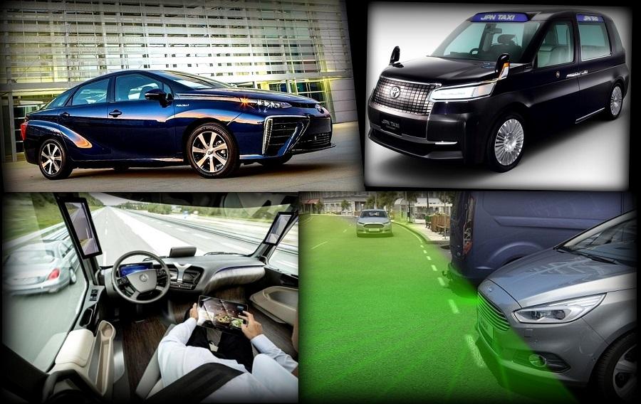 Беспилотные автомобили приходят на замену привычных авто.