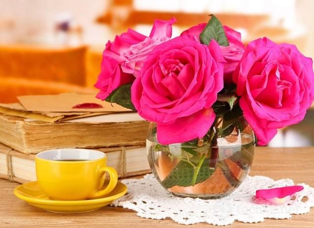 Как дольше хранить розы в вазе