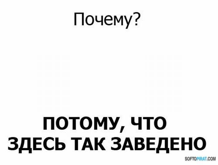 Потому!