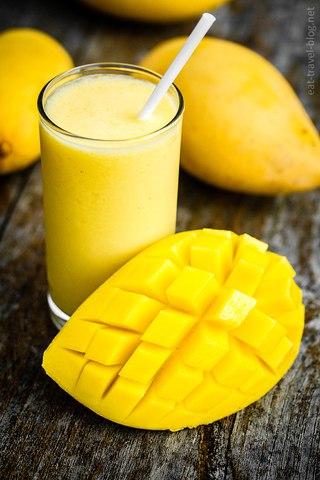 Продлите себе лето с ласси из манго!