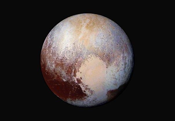 Новый снимок Плутона