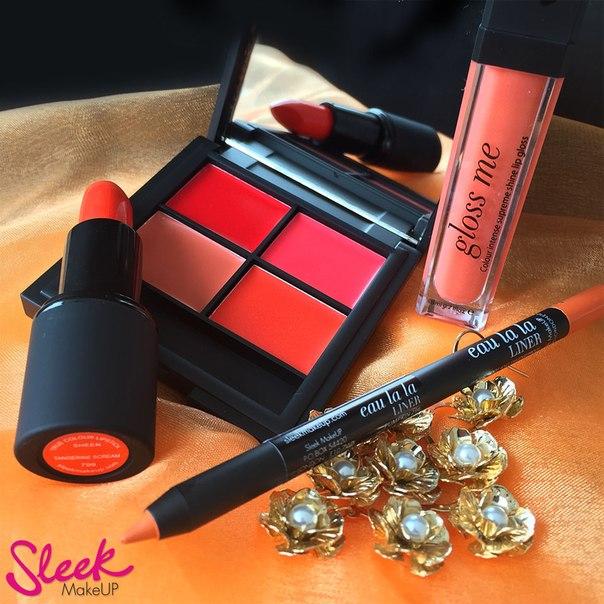 Сбор заказов. Сбор заказов. Профессиональная декоративная косметика из Британии sleek make up- прекрасное соотношение