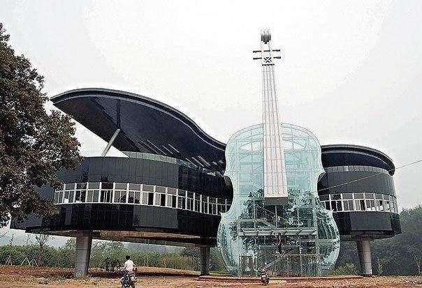 Музыкальная школа в Китае.