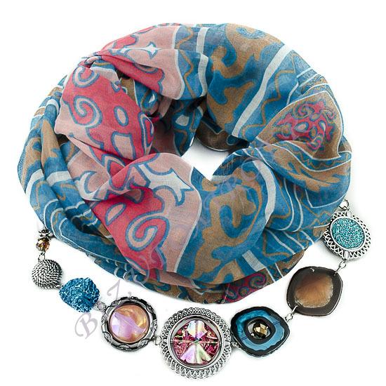 Сбор заказов.Изысканные шарфы, косынки, платки с украшениями из Чехии, а также бижутерия из чешского стекла -будьте неотразимы-5!