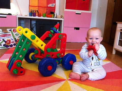 Чух-чух, Бах-бах и Вжик - Огро-о-омные конструкторы для самых маленьких.