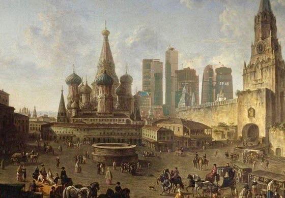 Вечная Москва.