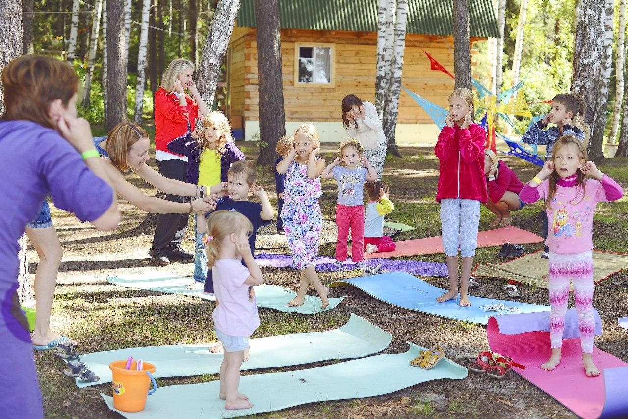 Детская йога в ИСКРЕ