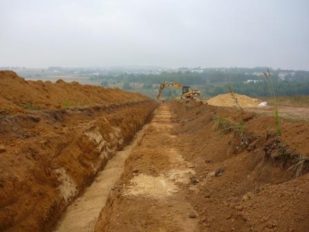 Компания Деметра начала строительство центрального водопровода в ЖК Стрижи и Акварель