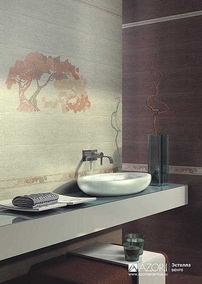Керамическая плитка Азори Эстелла в интернет-магазине Интерьер+