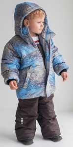 Функциональная верхняя детская одежда Бибон