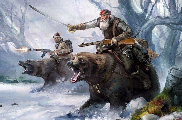 Почему у иностранцев Россия ассоциируется с медведем