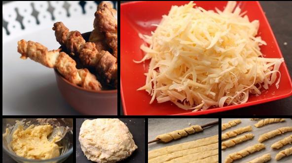 Сырные палочки к супу