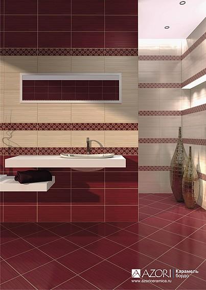 Керамическая плитка Азори Карамель в интернет-магазине Интерьер+