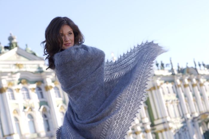 Фабрика Оренбургских пуховых платков: паутинки, платки, шали, пончо, джемпера, варежки, теплые носки. Выкуп - 11