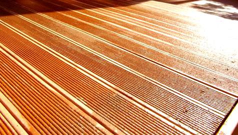 Укладка террасной доски