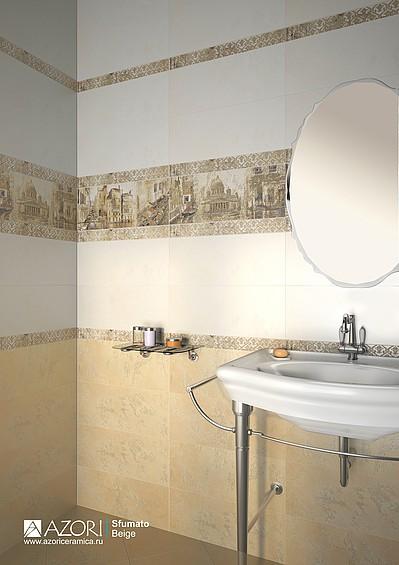 Низкие цены на керамическую плитку Азори Sfumato в интернет-магазине Интерьер+
